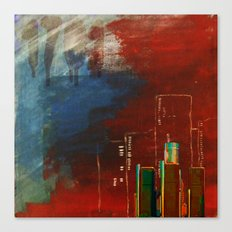 Death of Detriot - Skyline  Canvas Print