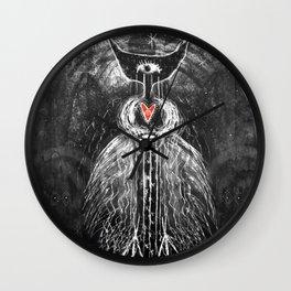 Mountain Plant Spirit Wall Clock