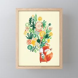 Flower Delivery Framed Mini Art Print