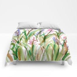 Lavender Watercolor No. 1 Comforters