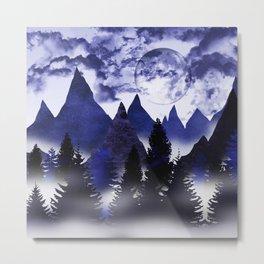 The twilight shadows Metal Print