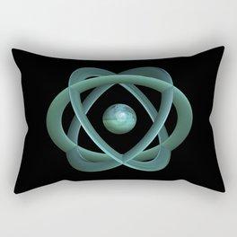 The Atom Age Rectangular Pillow