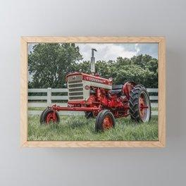 International Harvester Farmall 240 Framed Mini Art Print