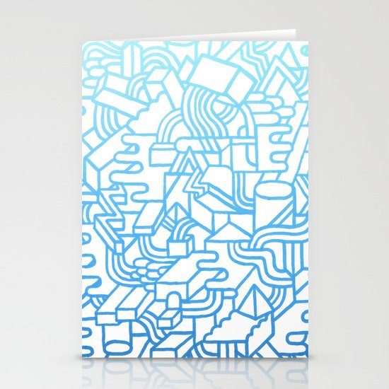 Wave Machine Stationery Cards