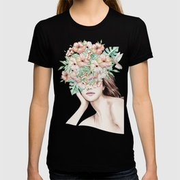 She Wore Flowers in Her Hair Island Dreams T-shirt