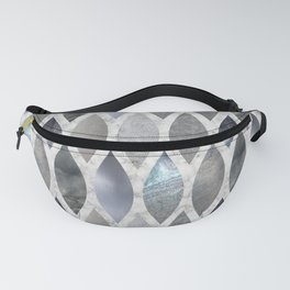 Metallic Armour Fanny Pack