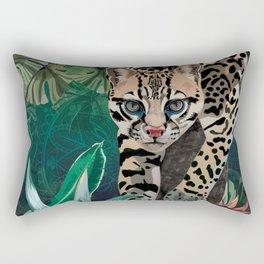 Ocelot Rectangular Pillow