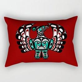 Northwest Pacific coast Haida art Thunderbird Rectangular Pillow