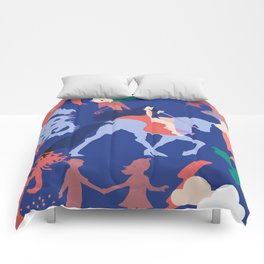 Lady godiva 2 Comforters