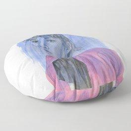 The Pink Jacket Floor Pillow