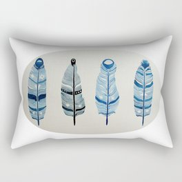 The four siblings of mother bird Rectangular Pillow