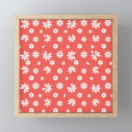 Flowers and Petals Framed Mini Art Print
