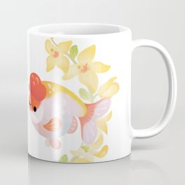 Ranchu and Forsythias Coffee Mug
