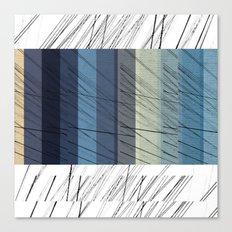 Blues Arrangement Canvas Print