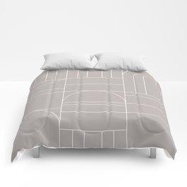 Deco Geometric 04 Grey Comforters