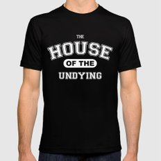 It's the House of the Undying. Mens Fitted Tee Black MEDIUM
