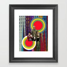 Target zone Framed Art Print