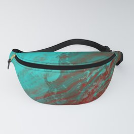Dramatic Carmel Sunset - Ocean Color Fanny Pack