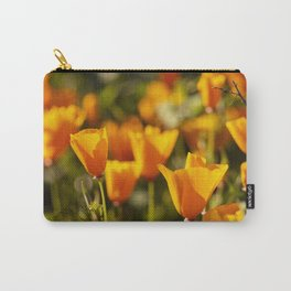 Poppies in Bloom at the California Superbloom Carry-All Pouch