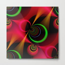 3D abstraction -29- Metal Print