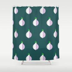 Vegetable: Onion Shower Curtain