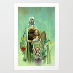 Generation Art Print