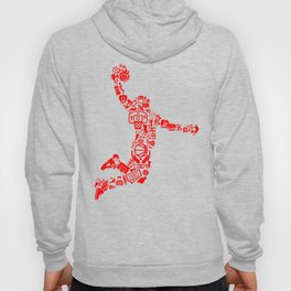 Basketball RED Hoody