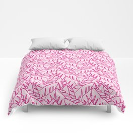 Into The Palms - Pinks Comforters