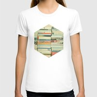 vintage T-shirts featuring Bookworm by Cassia Beck