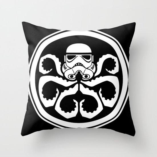 Hydra Trooper Throw Pillow
