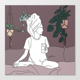 Work From Home Canvas Print