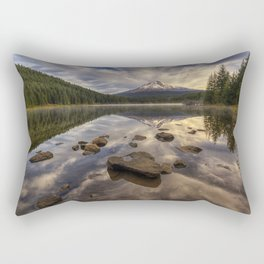 Trillium Reflection Rectangular Pillow