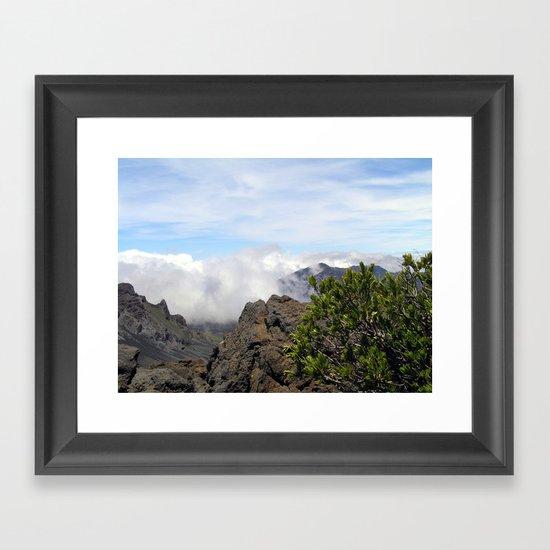 Maui Hawaii - Haleakala National Park Framed Art Print