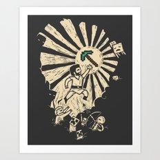 Legends of Old Art Print