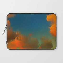 Orange and Blue Skies Laptop Sleeve