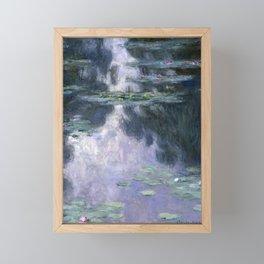 Monet - Water Lilies (Nymphéas), 1907 Framed Mini Art Print