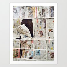 In The News  Art Print