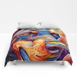 Doberman 2 Comforters