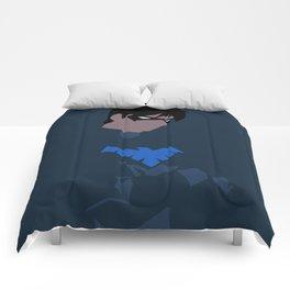 Nightwing Minimalism Comforters