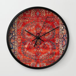 Sarouk Arak West Persian Carpet Wall Clock
