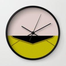 James T Kirk - Minimalist Star Trek 2009 AOS - Into Darkness -  James Jim - Trektangle - Trektangles Wall Clock