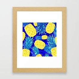 Pineapple Love Framed Art Print