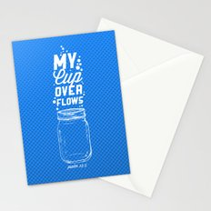 Psalm 23:5 Stationery Cards