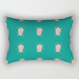 arthropod teal Rectangular Pillow