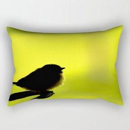 Baby Bird In Early Summer #decor #society6 Rectangular Pillow