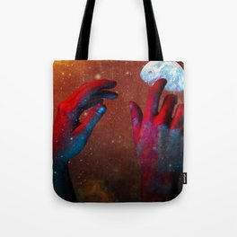 HANDS OF GOD Tote Bag