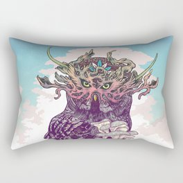 Journeying Spirit (Owl) Rectangular Pillow