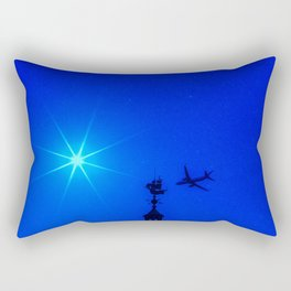 Off to Neverland Rectangular Pillow