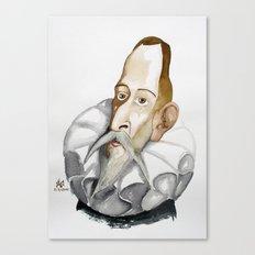 Cervantes Canvas Print