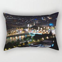 Paris by Night - TiltShift Rectangular Pillow